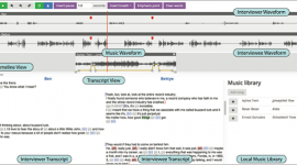 Content-Based Tools for Editing Audio Stories, UIST 2013