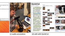 QuickCut: An Interactive Tool for Editing Narrated Video